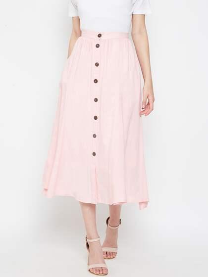 71745cb3c Women's Skirts - Buy Skirts for Women Online in India