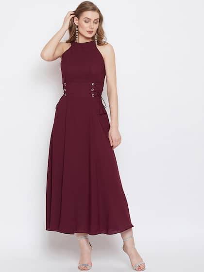 5694081b2e3 Women Halter Neck Dresses - Buy Women Halter Neck Dresses online in ...