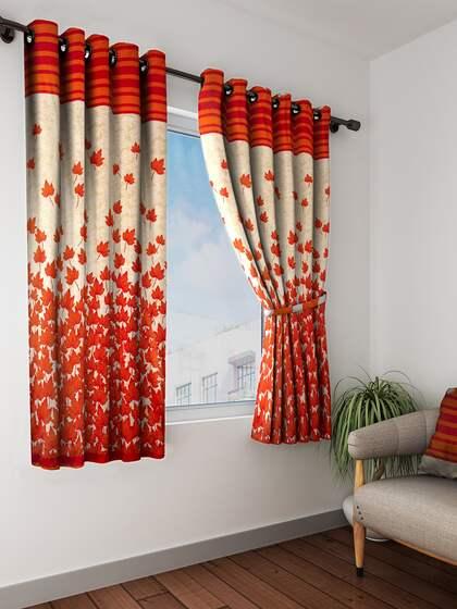 Curtains Buy Window Curtains Door Curtains Online Myntra