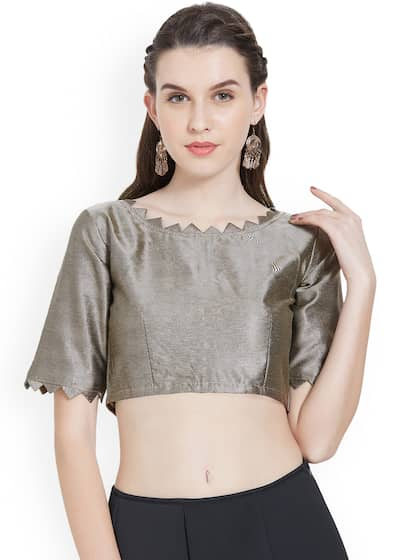 073a4d83 Blouses - Shop for Designer Blouse Online in India | Myntra