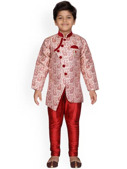 544563da43943 Kids Sherwani - Buy Kids Sherwani for Boys Online | Myntra