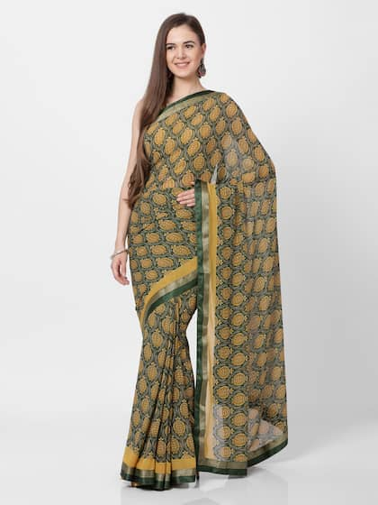 cfb30a1736 Georgette Sarees - Buy Georgette Saree Online in India   Myntra