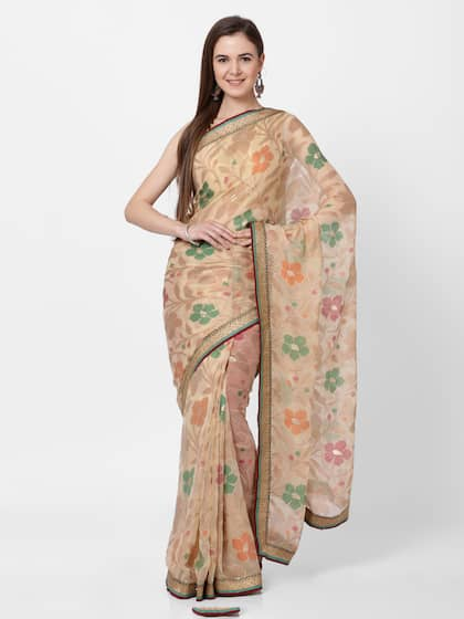 b77bf394f1 Georgette Sarees - Buy Georgette Saree Online in India | Myntra