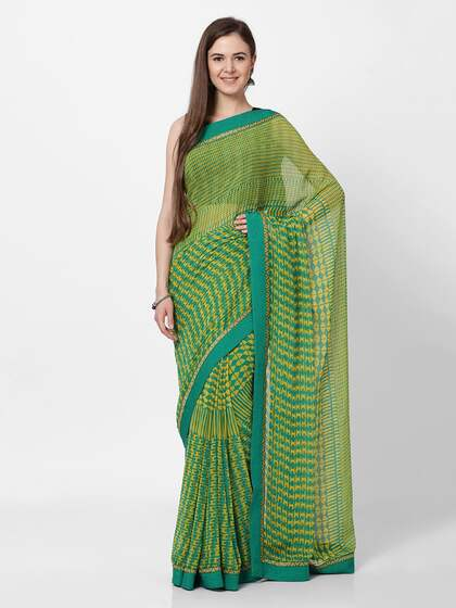 1f041f47e Synthetic Sarees - Buy Synthetic Sarees Online - Myntra
