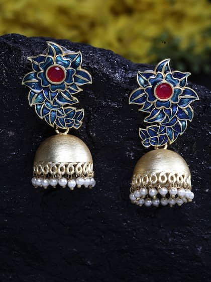 15d3c5f60 Jhumkas - Buy Jhumka Earrings Online in India | Myntra