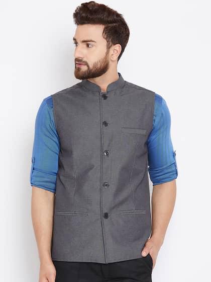 1540c95a708 Nehru Jackets - Buy Nehru Jackets Online in India | Myntra