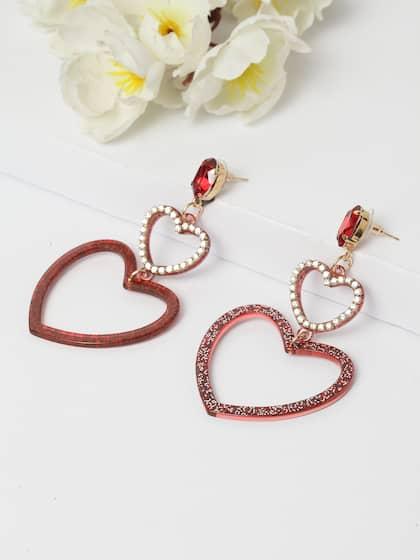 621aeeb98f33e9 Red Earrings - Buy Red Earrings Online in India