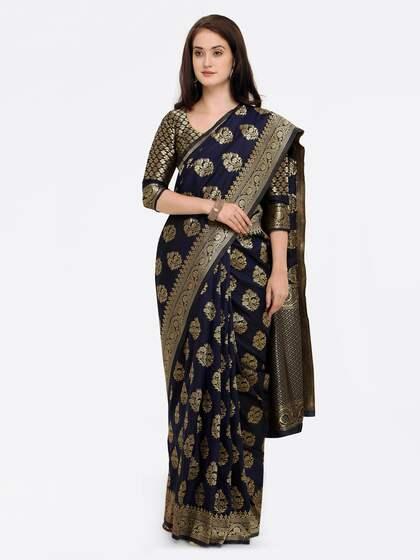 5122337c81 Banarsi Saree - Authentic Banarsi Sarees Online - Myntra