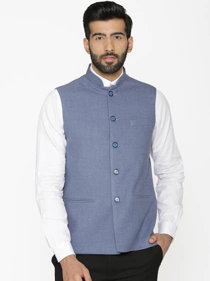 ba7aa3ffaa3 Nehru Jackets - Buy Nehru Jackets Online in India | Myntra