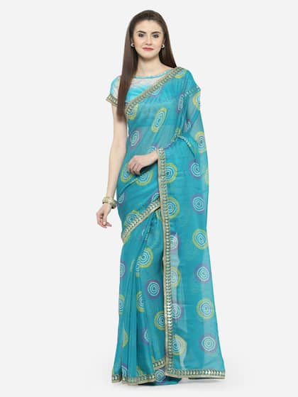 f475f930b0299c Blue Saree - Buy Blue Color Women Sarees Online | Myntra