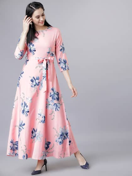 a0d6e551c Long Dresses - Buy Maxi Dresses for Women Online in India - Upto 70% OFF