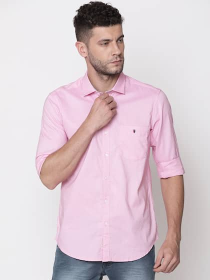568f5d29600 Pink Shirts - Buy Pink Shirt online at Best Price | Myntra
