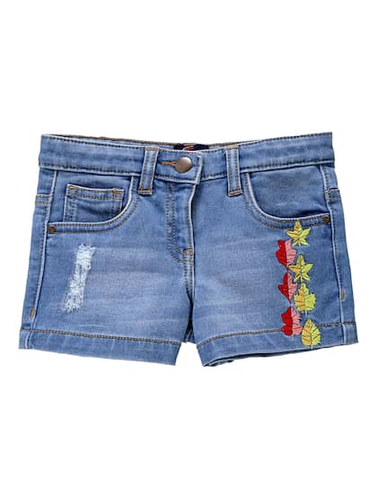31d22748af Shorts For Girls- Buy Girls Shorts online in India - Myntra