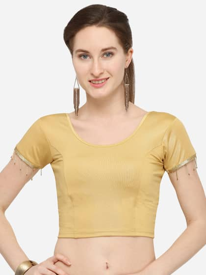 64d5fa05ff584e Blouses - Shop for Designer Blouse Online in India | Myntra