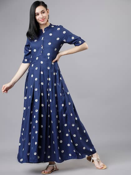 b169aa62f8ad Long Dresses - Buy Maxi Dresses for Women Online in India - Upto 70% OFF
