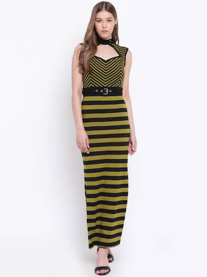 24cb9aa833c Long Dresses for Women - Buy Ladies Long Dresses Online | Myntra