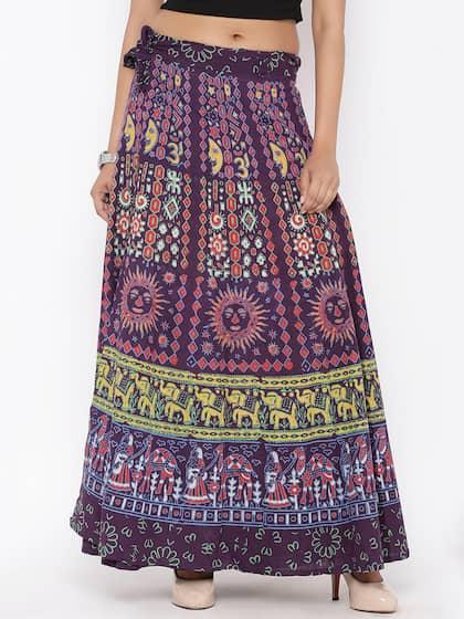 4c7889d2ee64 Skirts for Women - Buy Short, Mini & Long Skirts Online - Myntra
