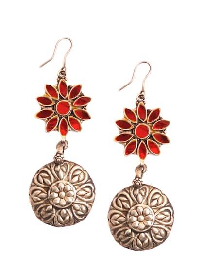 70afdd4e2 Red Earrings - Buy Red Earrings Online in India
