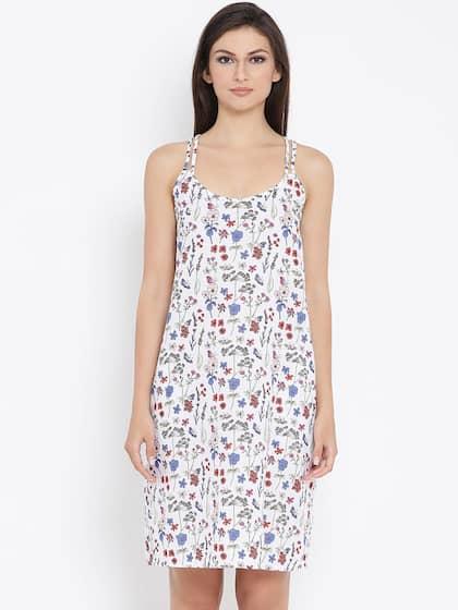 e846610e3f06b Cotton Nightdresses - Buy Cotton Nightdresses Online in India | Myntra