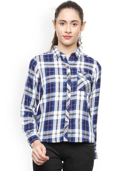 65c9741f Women Shirts - Buy Shirts for Women Online in India | Myntra