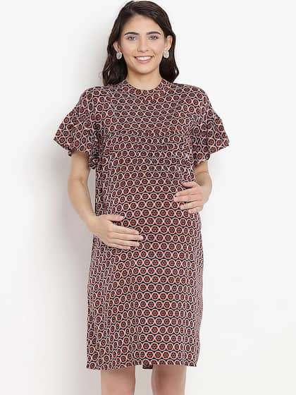 aefc8618ba Maternity Dresses - Buy Pregnancy Dress Online in India | Myntra