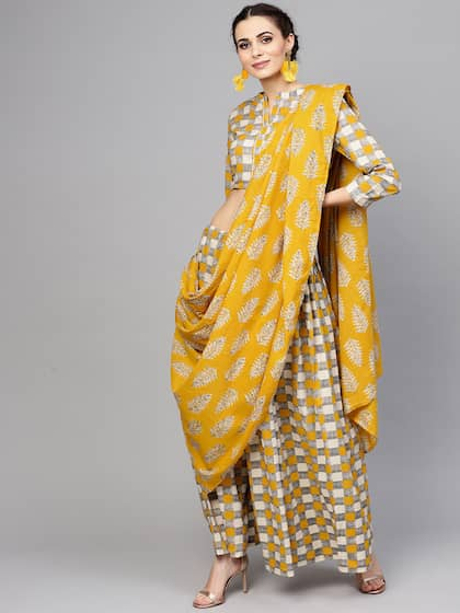 ef78b9c4ae Printed Saree - Buy Printed Sarees for Women Online in India | Myntra