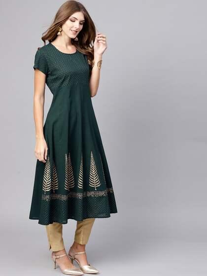 544927e3a7b4a Ethnic Kurtas - Buy Ethnic Kurta Online in India at Myntra
