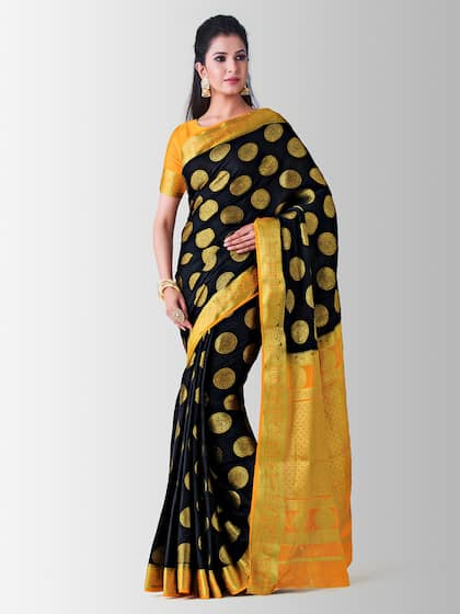 fc81112acb Mysore Silk Saree - Buy Mysore Silk Sarees Online @ Best Price | Myntra