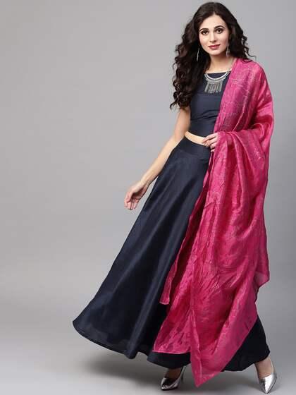 1fce2970b7 Jaipuri Lehenga - Buy Jaipuri Lehenga Choli Online | Myntra