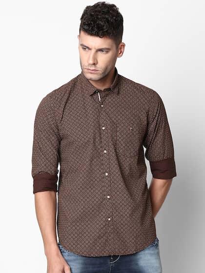 2161ed6c Printed Shirts - Buy Printed Shirts Online in India