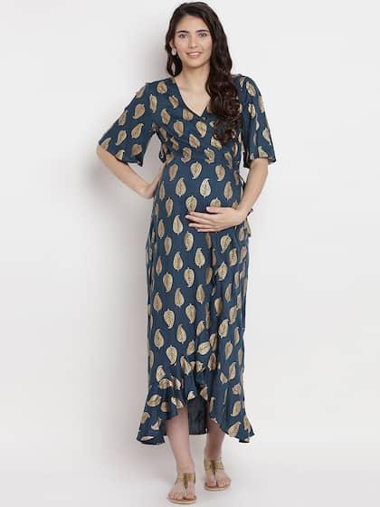974e9193ed35c Maternity Dresses - Buy Pregnancy Dress Online in India   Myntra