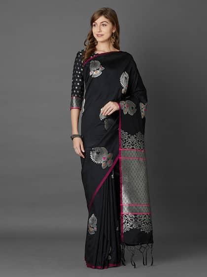 69e0e269e Banarsi Saree - Authentic Banarsi Sarees Online - Myntra
