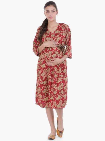 b658bab9d Maternity Dresses - Buy Pregnancy Dress Online in India | Myntra