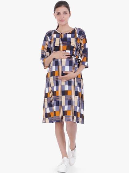 660b638a1 Maternity Dresses - Buy Pregnancy Dress Online in India | Myntra
