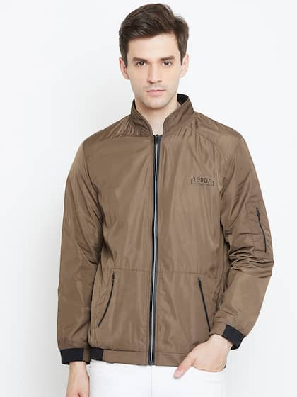 ab881bbbb Jackets - Buy Leather Jackets, Denim Jackets for Men & Women - Myntra