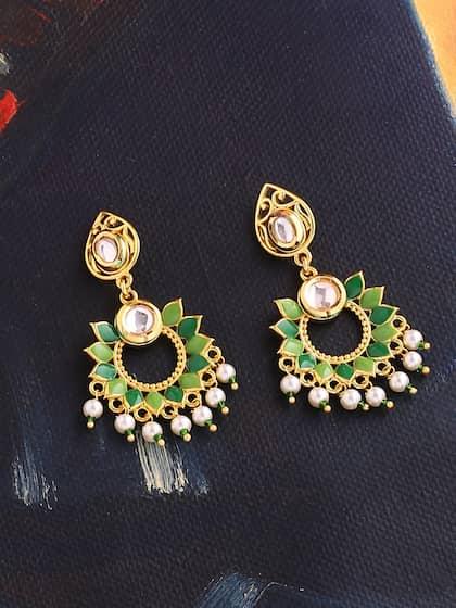 ChandBali Earrings - Buy Chandbali Earring Online | Myntra