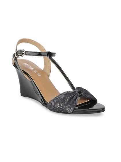feac1296142 Black Heels - Buy Black Heels Online in India
