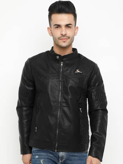 1b1667ce9 Leather Jackets - Buy Leather Jacket Online in India | Myntra