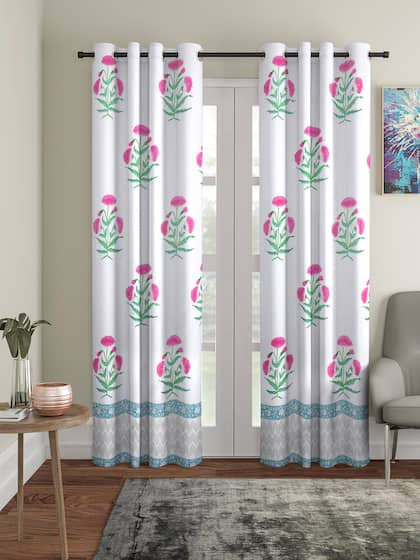Photo Curtain Lily Faces Curtain Digital Print Sliding Curtain with Motif to measure