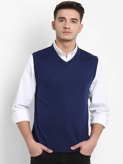 ce81f2448cb Sweaters for Men - Buy Mens Sweaters, Woollen Sweaters Online - Myntra