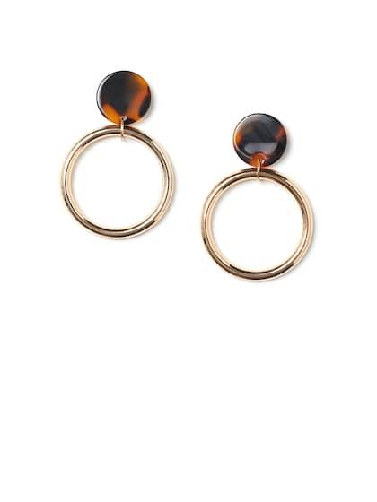 ec4a405ec4f64 Hoop Earrings - Buy Hoop Earrings Online For Women & Girls | Myntra