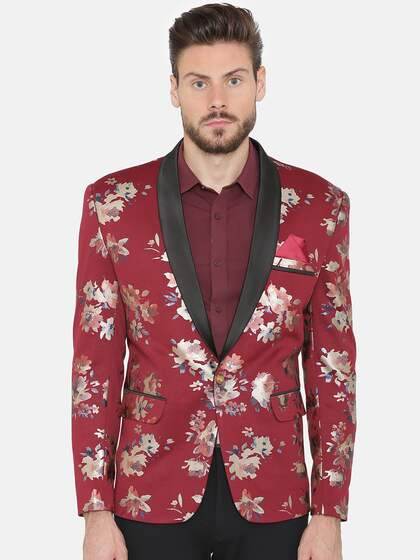 ce8bfd8fc Printed Blazers - Buy Printed Blazers online in India