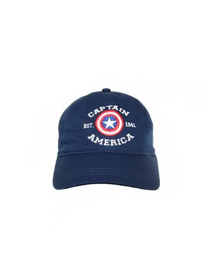 4b72c0ae8de Kook N Keech Marvel. Unisex Blue Captain America Cap