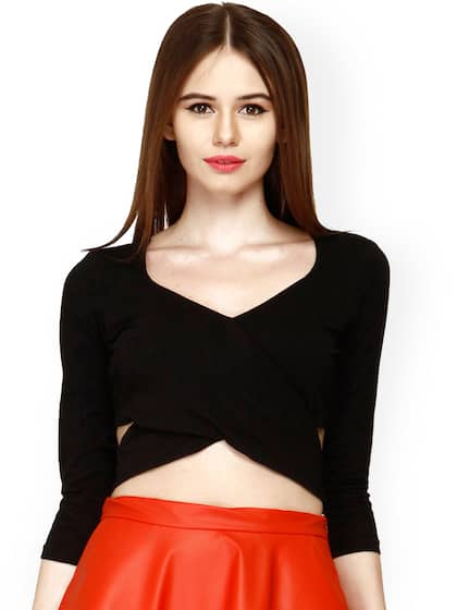 e9aeacba7619 Crop Tops - Buy Midriff Crop Tops Online for Women in India