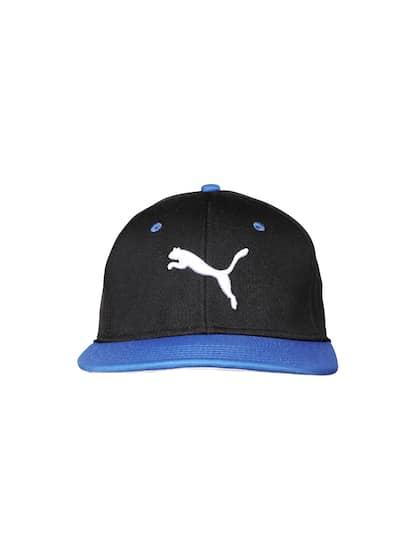 7ac459c1073d1 Puma. PUMA Unisex Black   Blue Stretchfit Cap