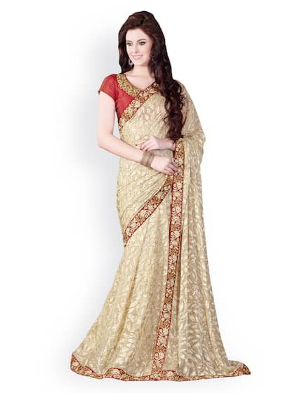 73a4bb3b27405d Party Wear Sarees - Buy Partywear Sari Online in India | Myntra
