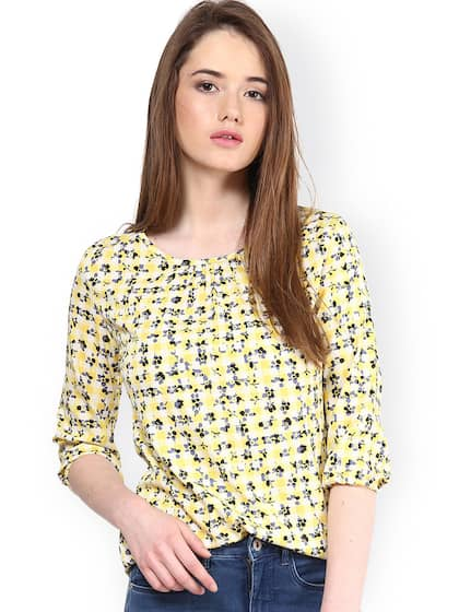 27fb29065e7701 Harpa Yellow Tops - Buy Harpa Yellow Tops online in India