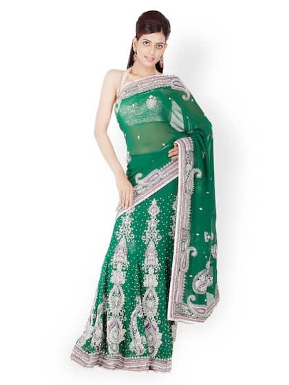 Party Wear Sarees - Buy Partywear Sari Online in India   Myntra