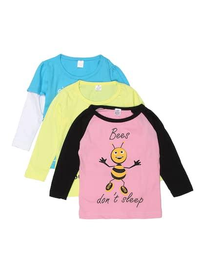 tops for girls buy girls tops tshirts online myntra