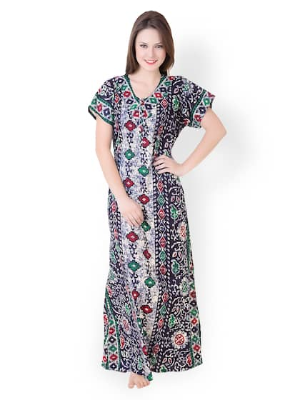 7da730666a Cotton Nightdresses - Buy Cotton Nightdresses Online in India